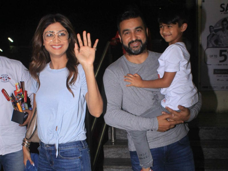 Shilpa Shetty And Viaan's Smiles Made Our Day
