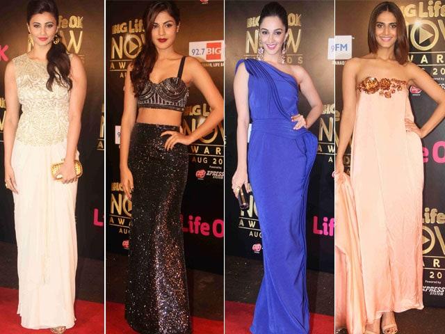 Bollywood Stars Glitter at Life OK Awards