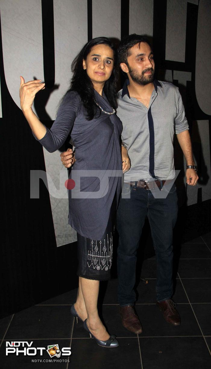Bollywood glitters at Shootout at Wadala party