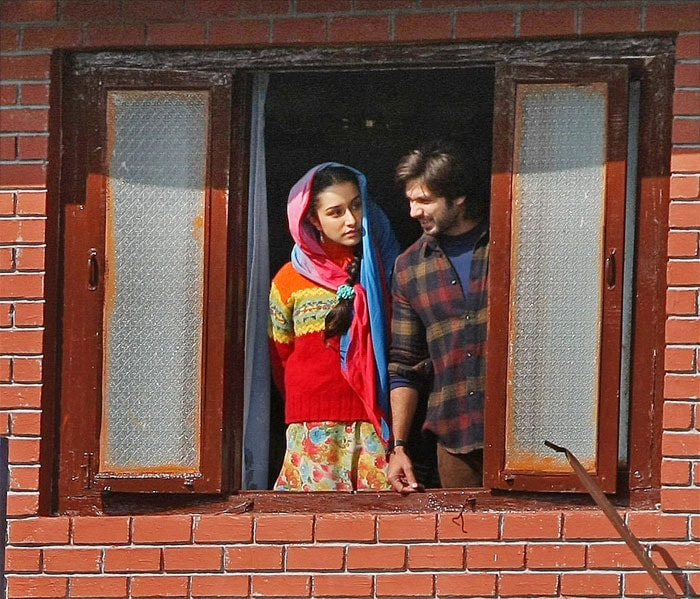 Shahid, Shraddha\'s Kashmir diaries
