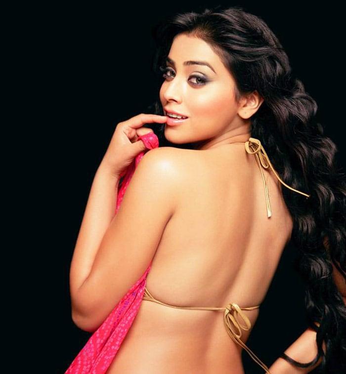 Sizzling Shriya back in Bollywood