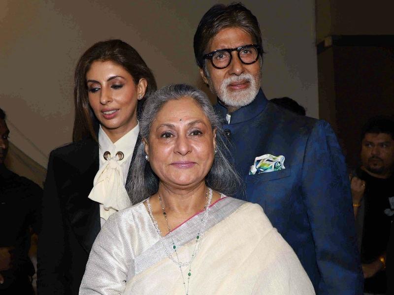 Amitabh Bachchan, Karan Johar Join Shweta Nanda's Cheer Squad