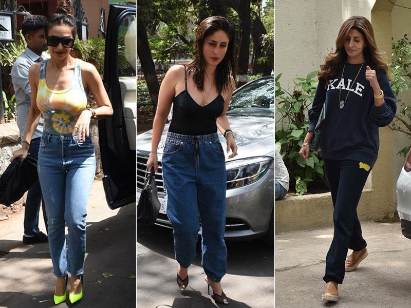 Shweta Bachchan, Kareena Kapoor And Malaika Arora Ticked-Off Weekday Duties