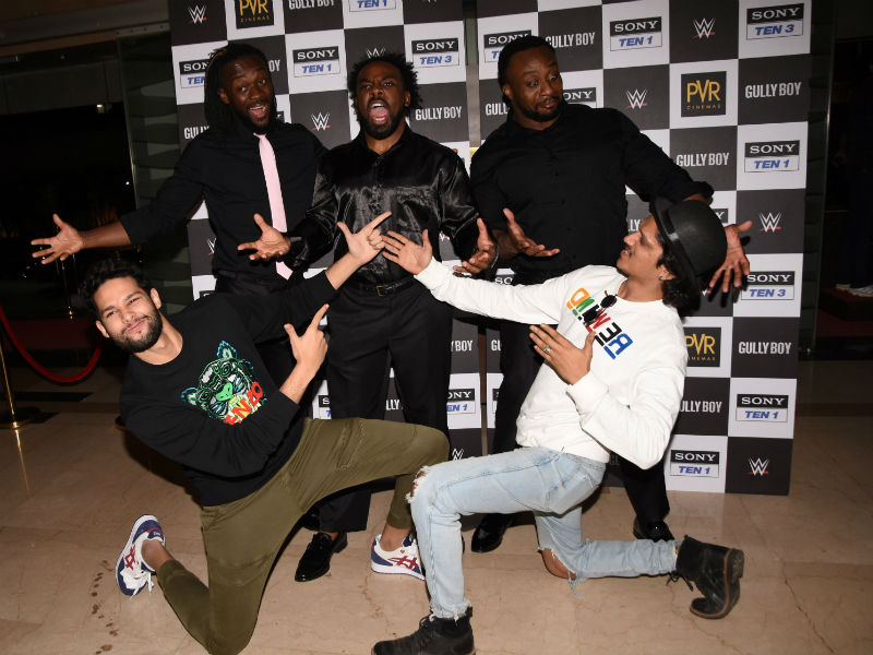 When Gully Boy's MC Sher Met WWE Stars