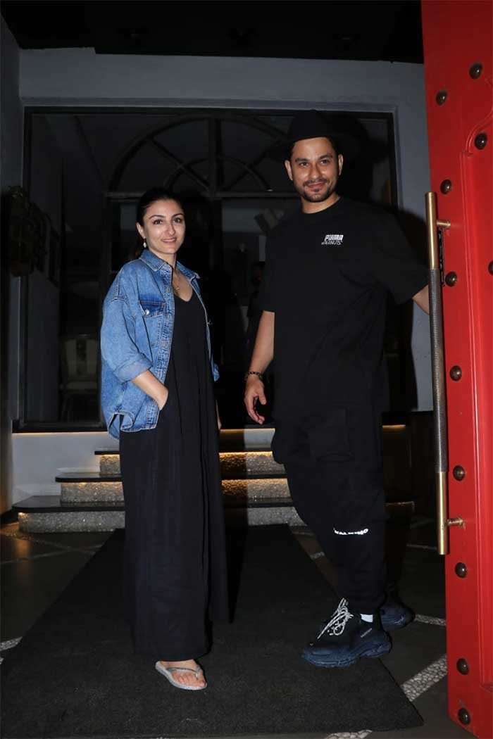 Sidharth Malhotra And Kiara Advani Paint The Town Red