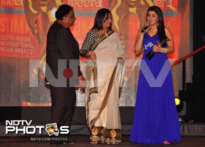 Stars shine at SIIMA Awards