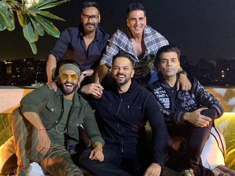 Inside Simmba's Success Bash With Ranveer, Deepika, Ajay Devgn, Akshay Kumar