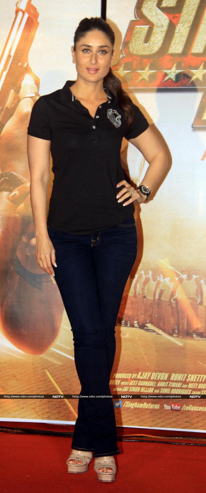 Singham Returns To Roar: Ajay, Kareena, Rohit