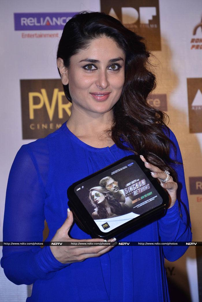 Singhams Kareena, Ajay Return for Popcorn
