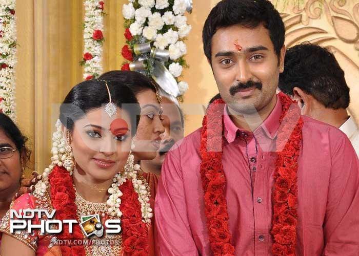 First Pics: Sneha, Prasanna engaged