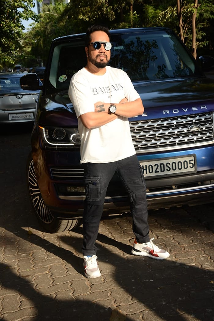 Singer Mika Singh was spotted in Andheri.