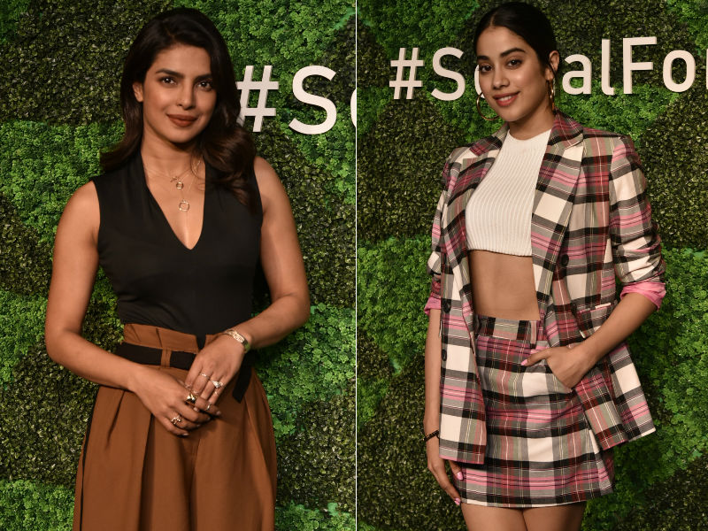 How Priyanka Chopra And Janhvi Kapoor Impressed The Fashion Police