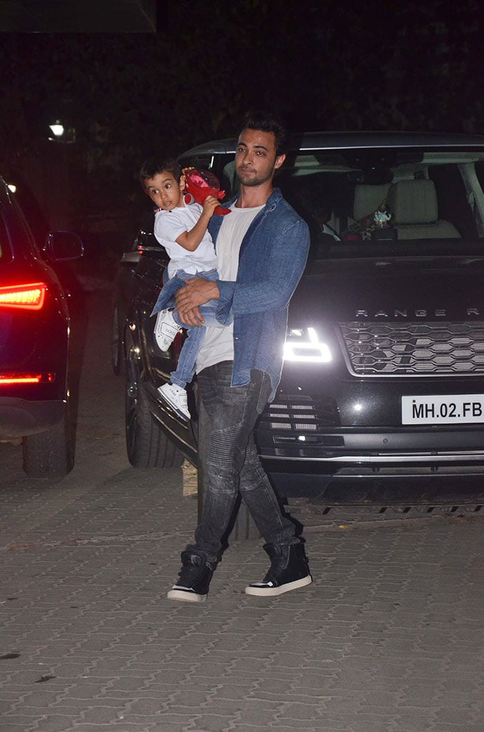 Little Ahil Is Star Guest At Party Night With Sohail Khan, Bobby Deol
