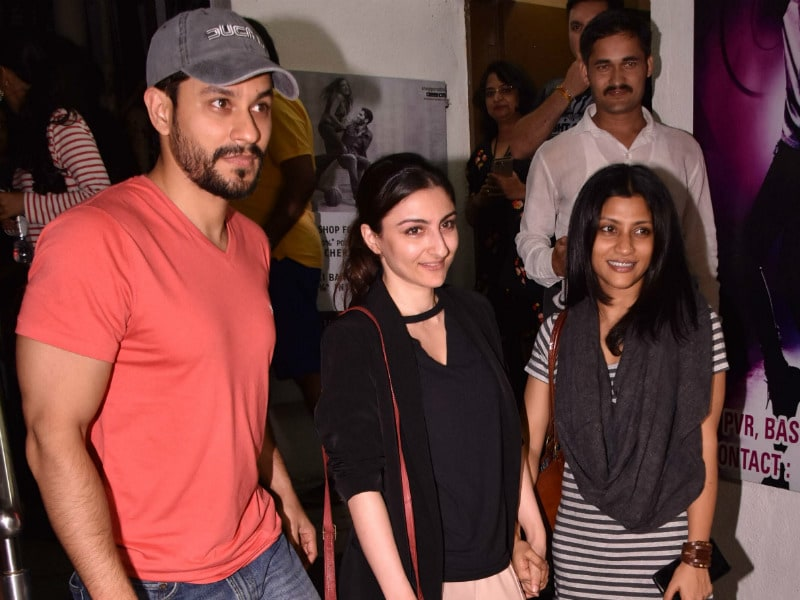 Photo : All About Soha And Kunal's Movie Date