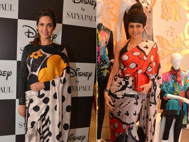 Styled By Mickey Mouse: Esha Gupta, Mandira Bedi