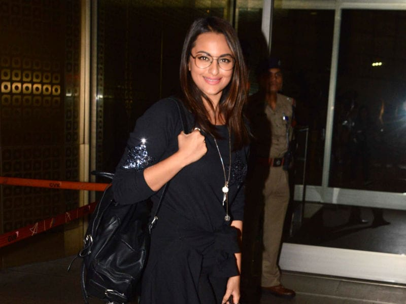 Sonakshi Sinha's Up In The Air Style