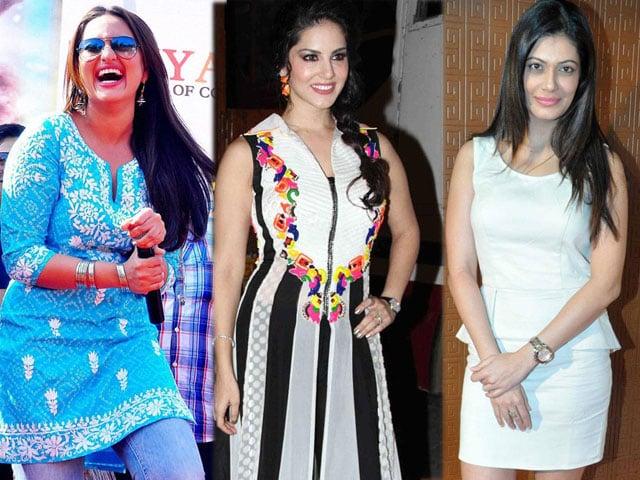 Photo : Sunday girls: Sonakshi, Sunny, Payal