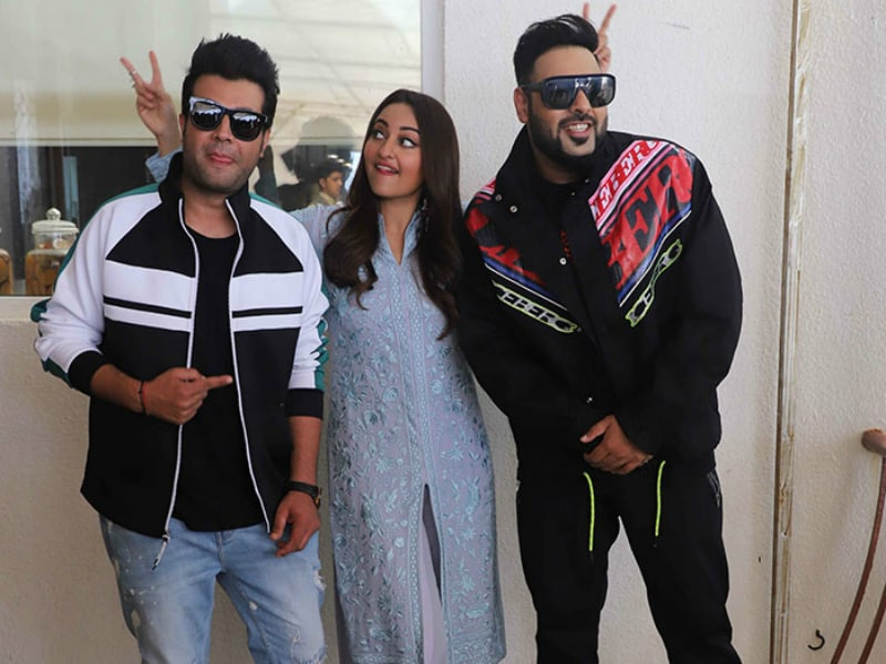 Sonakshi, Badhshah And Varun Are Busy With Khandaani Shafakhana Promotions