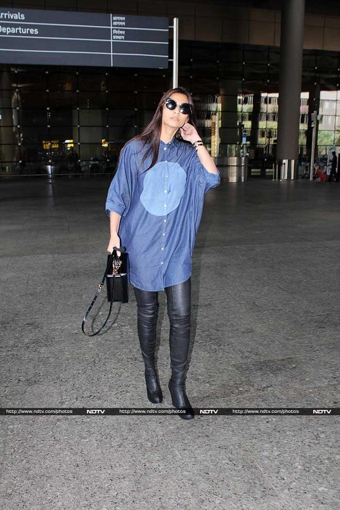 Sonam Kapoor Set The Bar High On The Fashion Meter
