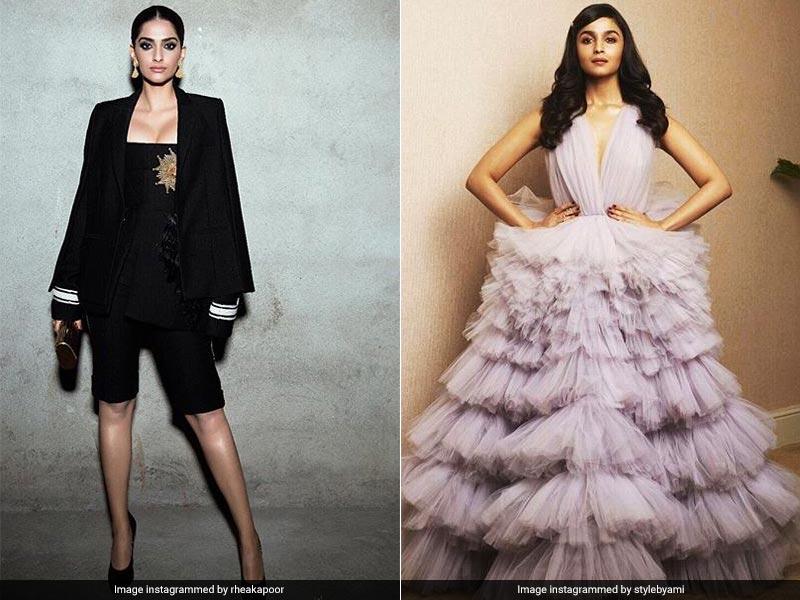 Filmfare Awards 2018: Sonam And Alia, The Red Carpet Stars
