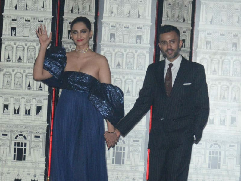 A Toast Raised For Sonam Kapoor And Anand Ahuja