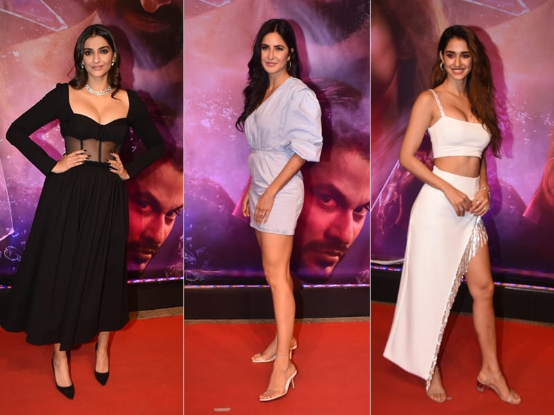 Sonam, Katrina And Others Watch Disha, Aditya And Anil Kapoor's Malang