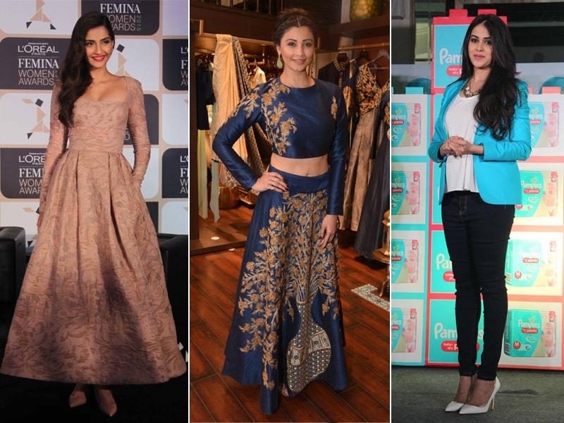 Fashion Splash: Sonam Kapoor, Daisy Shah, Genelia
