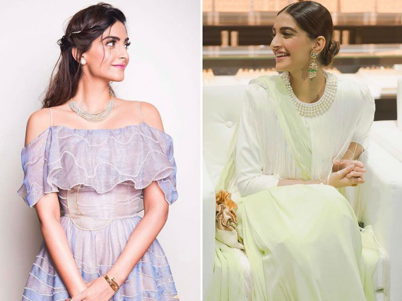 Sonam Kapoor Shares Two Looks, Which One Do You Like?