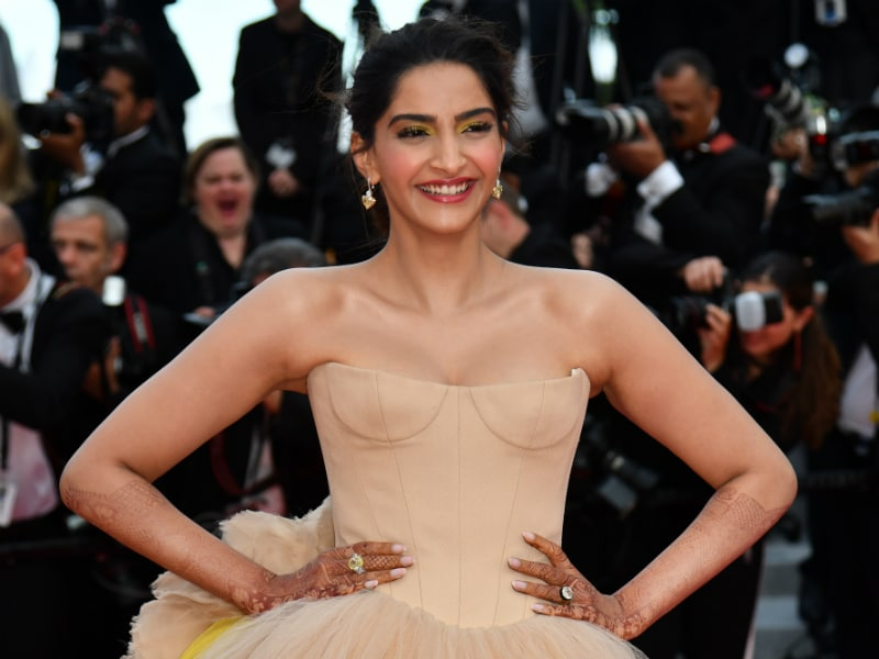 The Spotlight Followed Sonam Kapoor On Cannes Red Carpet