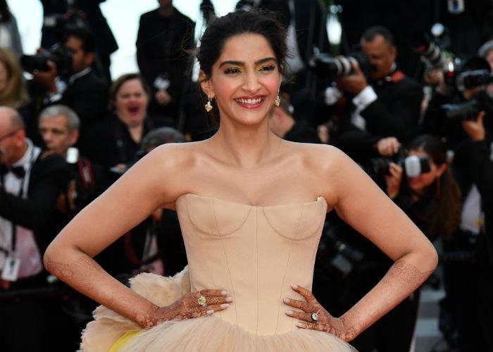 The Spotlight Followed Sonam Kapoor On Cannes Red Carpet