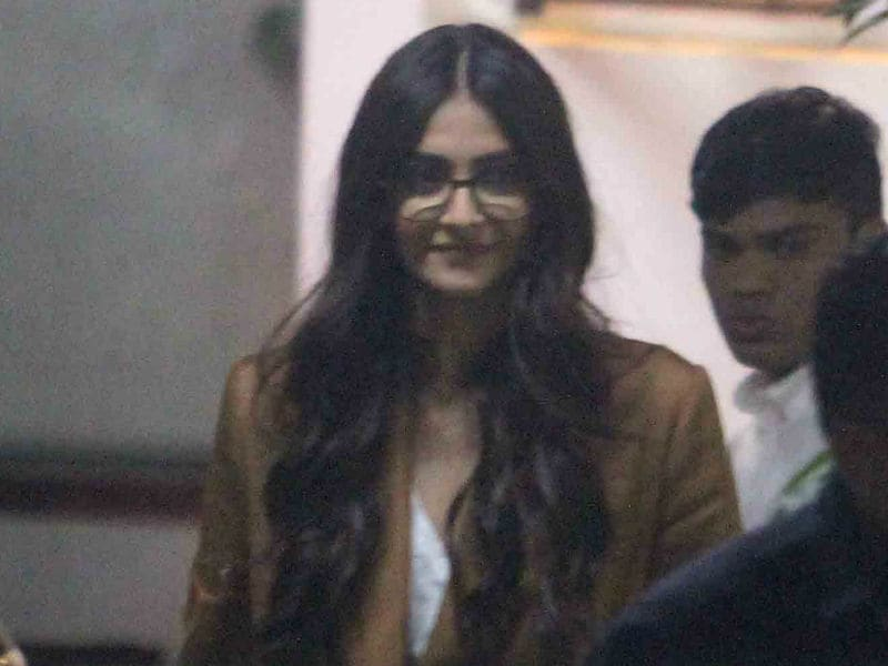Sonam Kapoor, Suited Up