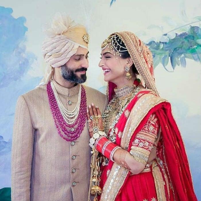 सोनम कपूर और आनंद की शादी की 10 खास तस्वीरें