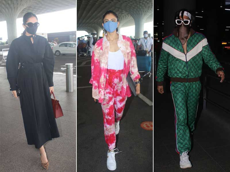 Photo : Star Studded Airport With Sonam, Rakul, Ranveer And Others
