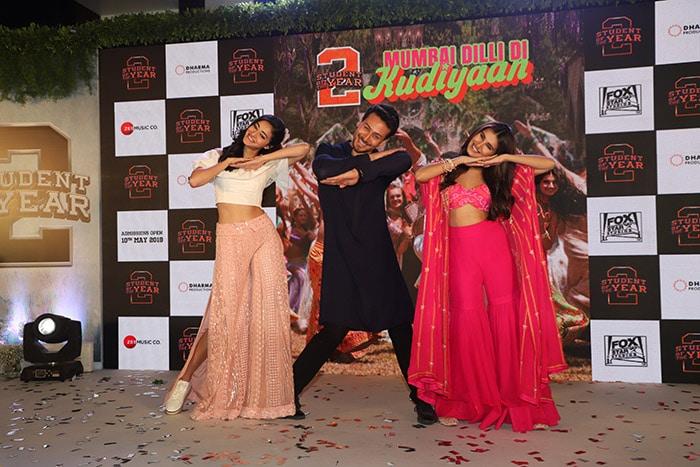 'स्टूडेंट ऑफ द ईयर 2' का सॉन्ग 'मुंबई दिल्ली दी कुड़ियां' लॉन्च