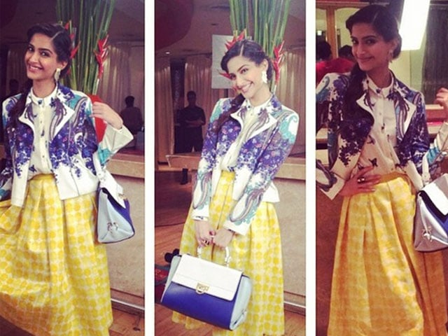 Label Love: How Many Designers Can Sonam Wear in One Outfit?