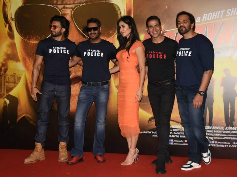 Photo : सूर्यवंशी के ट्रेलर लांच पर अक्षय, रणवीर, कटरीना, अजय देवगन ने की शिरकत