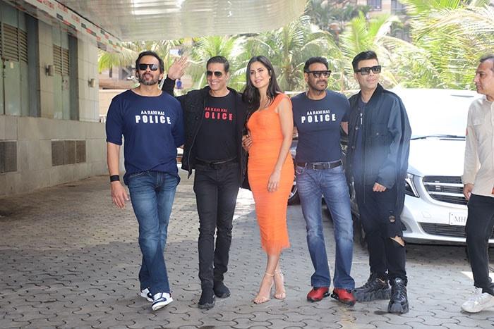 सूर्यवंशी के ट्रेलर लांच पर अक्षय,रणवीर, कटरीना, अजय देवगन ने की शिरकत