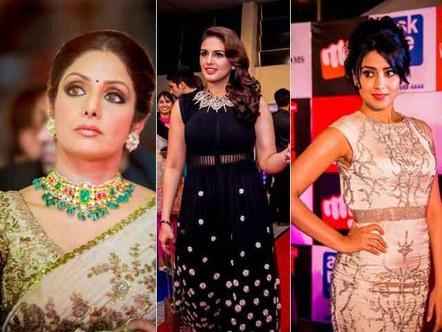 Southern Spice at SIIMA Awards: Sridevi, Huma, Shriya