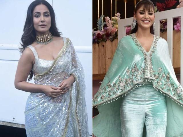 Photo : Sparkle And Smiles: From Hina, Urvashi's Fashion Diaries