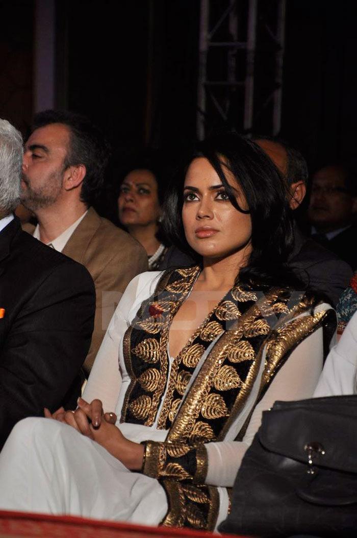 Spotted: Sameera, Eesha at Neeta Lulla Show