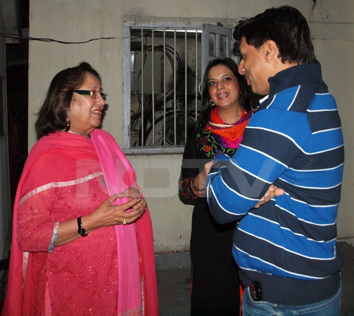 Spotted: LK Advani at a special screening