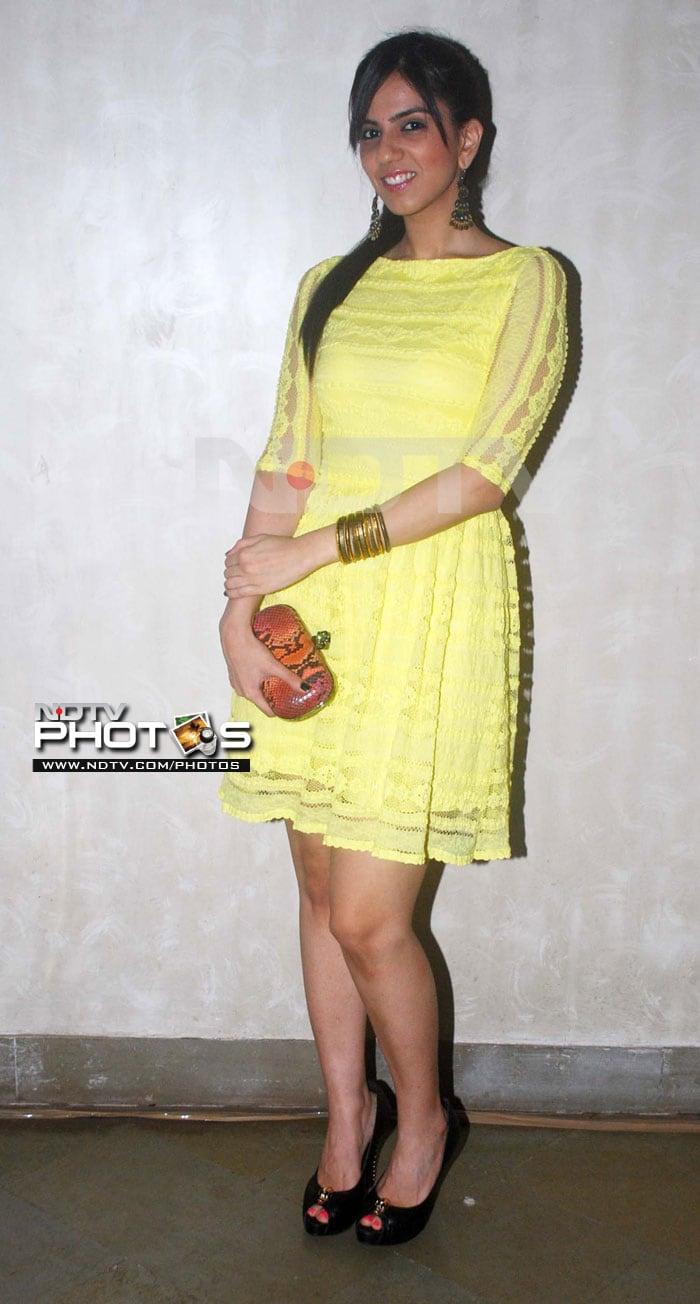 Mugdha, Nishka Lulla at Cafe Mangii launch