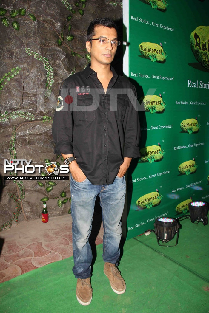 Stars at the Rainforest restaurant and bar launch