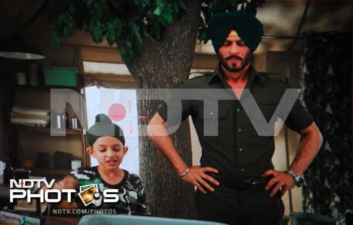 SRK\'s new look in an ad