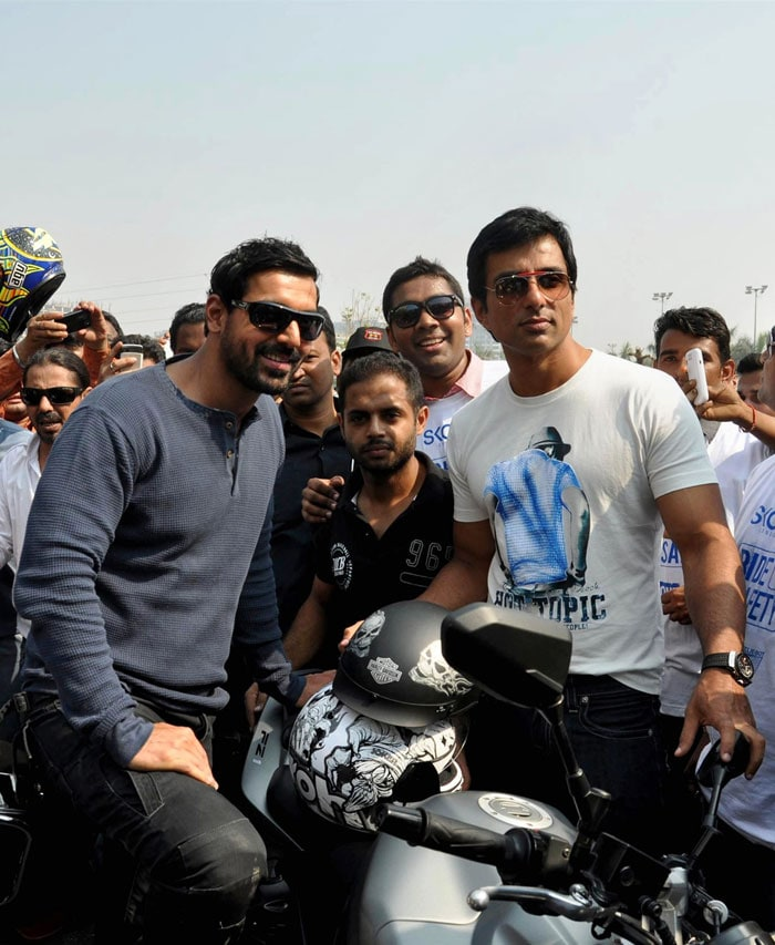 Riders of the storm: John and Sonu