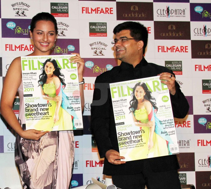 Sonakshi shines on the cover of Filmfare
