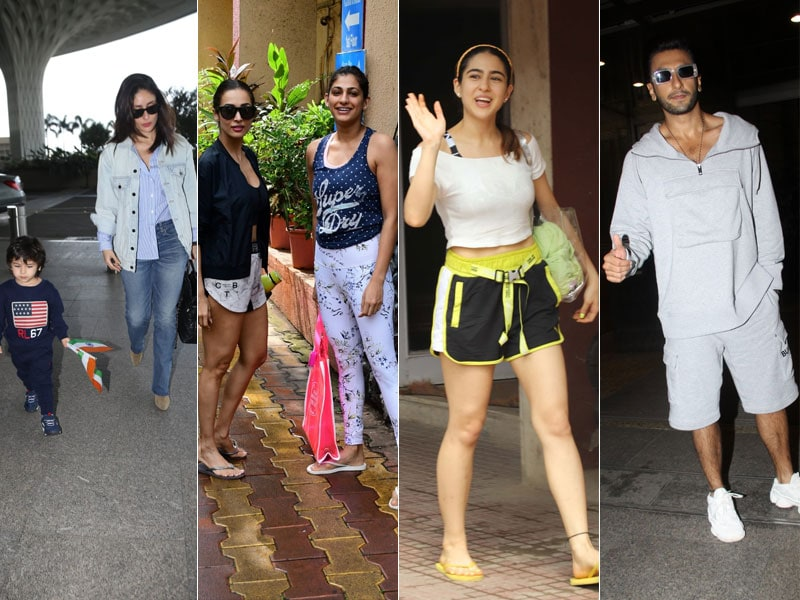 What's Keeping Kareena, Malaika, Sara And Ranveer Busy