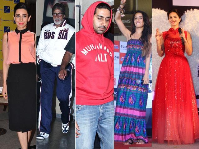 Photo : Wednesday Matinee: Karisma, Bachchans, Shraddha & Sunny