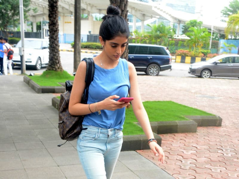 Navya Naveli Nanda's Shades Of Blue