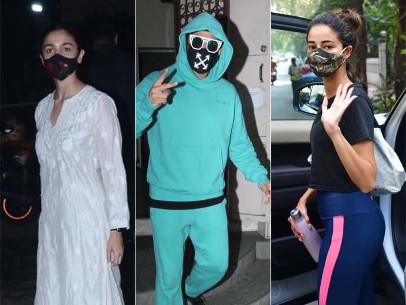 Sneak Peek Into Alia Bhatt, Ranveer Singh And Ananya Panday's Lives